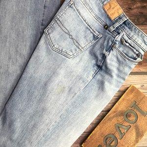 Lucky Brand Sweet Straight Leg Light Jeans~Sz 0/25